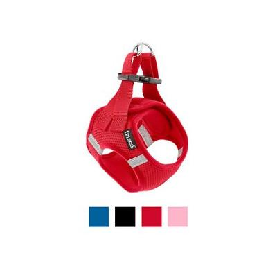 Frisco Soft Vest Dog Harness, Red, 12 to 15-in; The Frisco Soft Vest Dog Harness is an easy-to-use harness that is great for a pup on the go. It is made with soft, breathable mesh to provide your dog with a comfortable and functional harness that will...