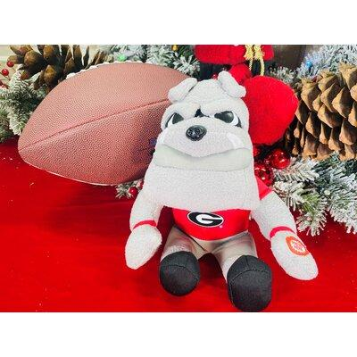 "Santa's Workshop 9"" Brutus Animated/ Musical Mascot ENW1785 NCAA Team: University of Georgia"
