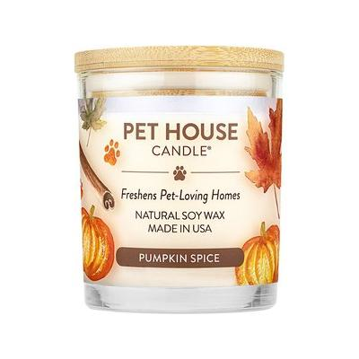 Pet House Pumpkin Spice Natural Soy Candle, 8.5-oz jar