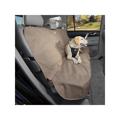 Kurgo Heather Dog Bench Seat Cover, Nutmeg