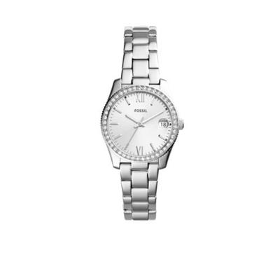 Fossil Stainless Steel Scarlette Three-Hand Date Watch