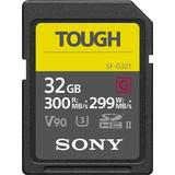 Sony SF-G32T/T1 32GB UHS-II Tough SD Card