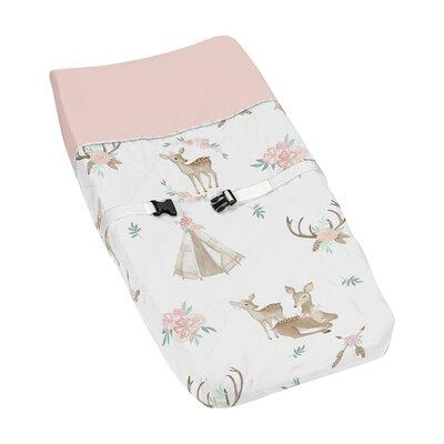 JoJo Designs Deer Floral Changing Pad Cover Pad-DeerFloral