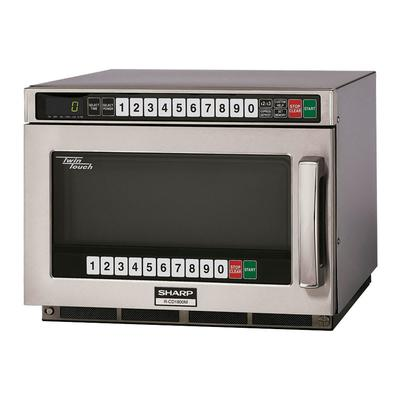 Sharp RCD1800M 1800w Commercial Microwave w/ Touch Pad, 2...