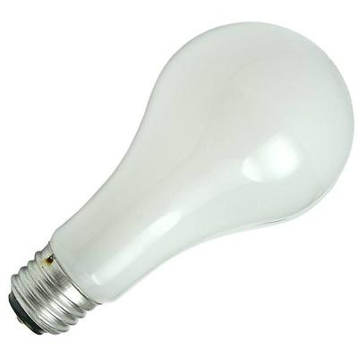GE L97494 Three-Way Soft White Incandescent Globe Bulb, 50/100/150 Watts