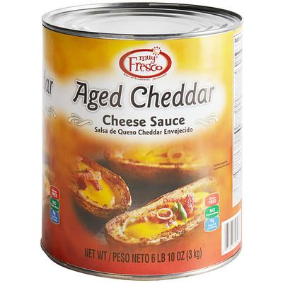 AFP Muy Fresco Aged Cheddar Nacho Cheese Sauce #10 Can - ...