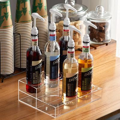 Update International Acrylic Bottle Holder for 6 Bottles