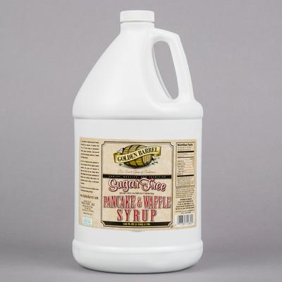 Fox's Sugar Free Pancake and Waffle Syrup 1 Gallon Container