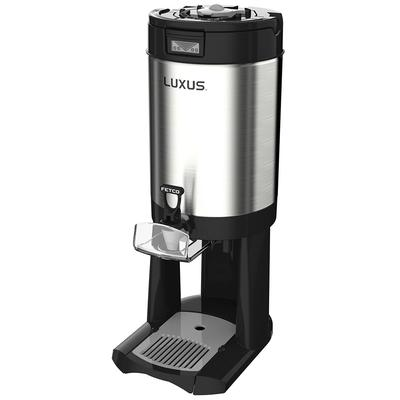 Fetco D450 2 gal LUXUS Thermal Coffee Dispenser, Black/Stainless Steel