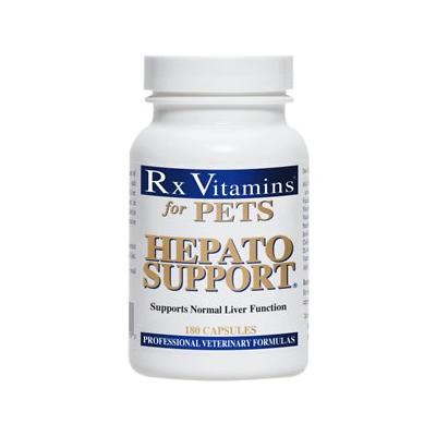 Rx Vitamins Hepato Support Dogs & Cat Supplement, 180 count