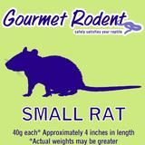 Frozen Small Rat - 20 Count, 25 CT
