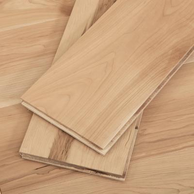 Natural Engineered Maple Hardwood Flooring, 2mm veneer, Sample