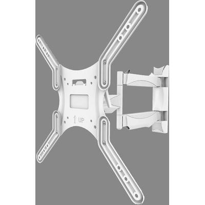 Kanto M300W Articulating Mount for Small/Medium TVs - White