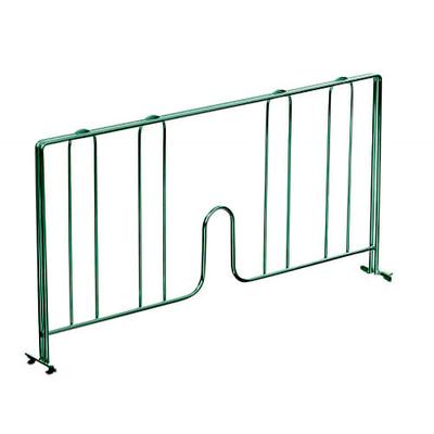 John Boos EPS-D18-G Wire Shelving Divider - 18 x 8, Green on Sale