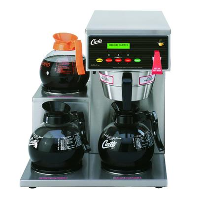 Curtis ALP3GTL63A000 Automatic Coffee Brewer w/ (2) Lower & (1) Upper Warmer & Hot Water Faucet, 120v