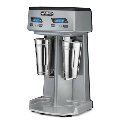 Waring WDM240TX Double Spindle Drink Mixer - (3) Speed, 120v on Sale
