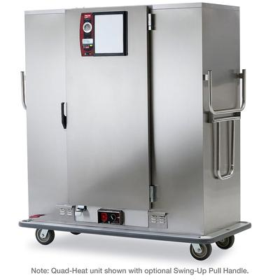 Metro MBQ-180 Heated Banquet Cart - (180) Plate Capacity, Stainless, 120v