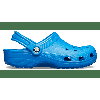 Crocs Bright Cobalt Classic Clog Shoes Slip into your favorite clog and enjoy a custom fit, water-friendly design and ventilated forefoot for breathability. Crocs trade Classic Details: Ventilation ports add breathability and help water and debris drain away. Water-friendly and buoyant...