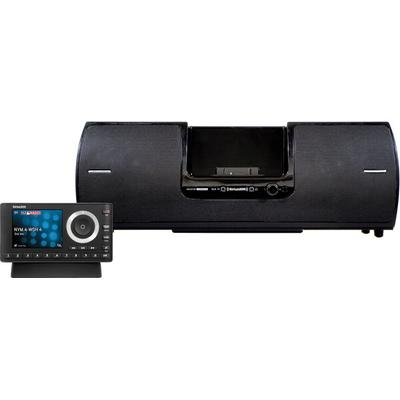 Onyx Plus w/ Home Kit & Speaker Dock SiriusXM Onyz Plus Dock and Play satellite radio with color display and home kit,SXSD2 portable speaker dock for Onyx EZR and Plus,includes home docking station, antenna, audio cable, and remote
