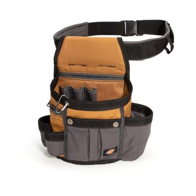 Dickies 8-Pocket Utility Pouch With 3-Inch Padded Belt - Brown Duck Size One (L10012)