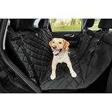 Frisco Quilted Water Resistant Hammock Car Seat Cover, Regular, Black
