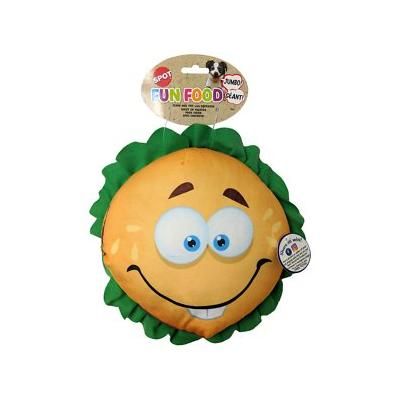 Ethical Pet - Ethical Pet Fun Food Cheeseburger Squeaky Plush Dog Toy