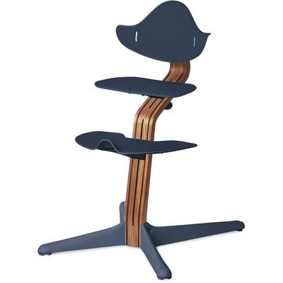 Nomi Chair - Navy / Natural Oak