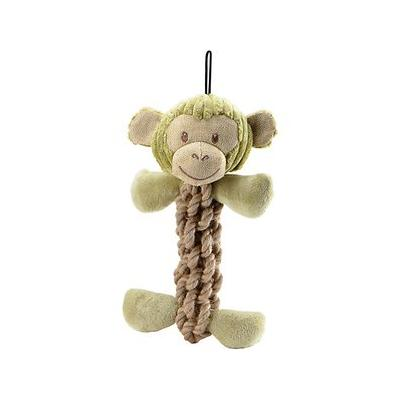 Petique Eco Pet Tough Hemp Monkey Dog Toy