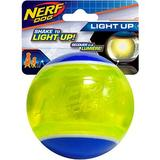 Nerf Dog Light Up LED Blaze Tennis Ball Dog Toy, 3.25-in