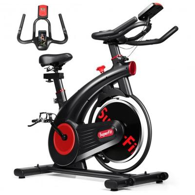 This cycling bike is made of superior refined steel, making it perfect for home, office and gym use.