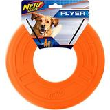 Nerf Dog Flyer Atomic Dog Toy, 10-in, Orange