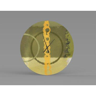 Latitude Run Atypical Nourishing Abstract Metal Wall Clock Metal In Orange Size Small Wayfair Aeee60b7279e4555bfef7864a9d5024a From Latitude Run Ibt Shop