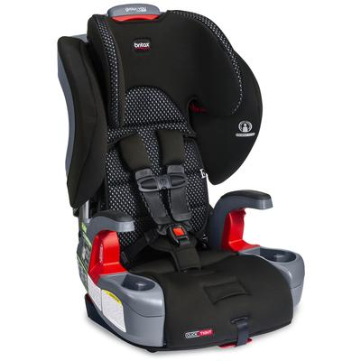 Britax Grow With You Clicktight Harness Booster Car Seat - Cool Flow Gray [New Version of the Fronti