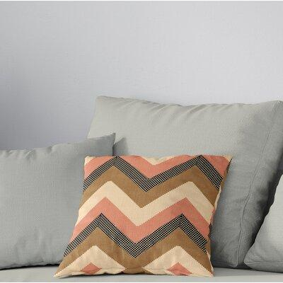 Deiana Cotton Chevron Throw Pillow