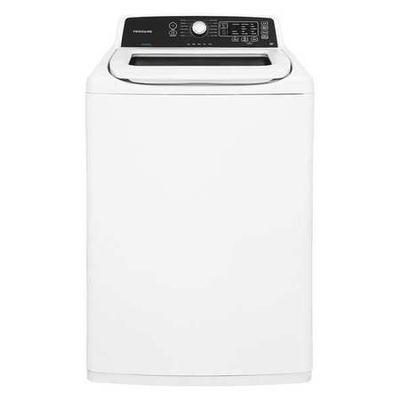"FRIGIDAIRE FFTW4120SW Top Load Washer,White,44-1/4"" H"