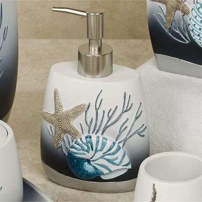 Blue Lagoon Lotion Soap Dispenser , Blue