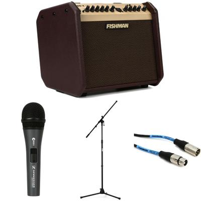 Fishman Loudbox Mini BT Songwriter Package with Microphone, Stand & Cable