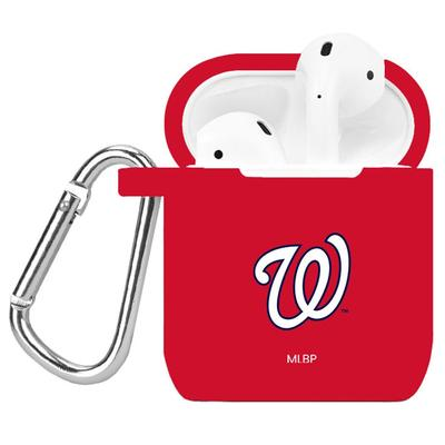 """Red Washington Nationals AirPods Case Cover"""