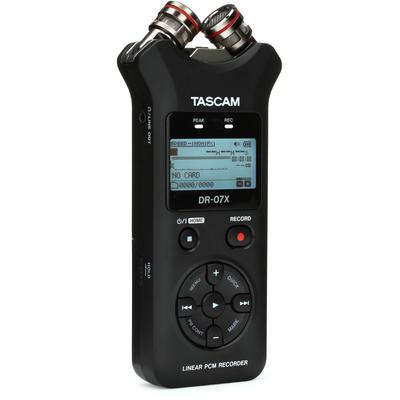 TASCAM DR-07X Stereo Handheld Re...