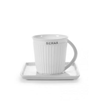 Shop Now For The Ebern Designs Isleton Crease Espresso Cup Set Of 2 Ceramic Porcelain China In White Cream Wayfair B6912056 Ibt Shop