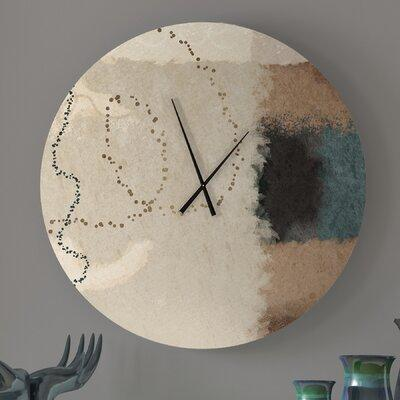 Must Have Latitude Run Amelioratory Full Abstract Metal Wall Clock Metal In Brown Green Size Small Wayfair 8c7c972a6754495fad3866a79d30d3d0 From Latitude Run Ibt Shop