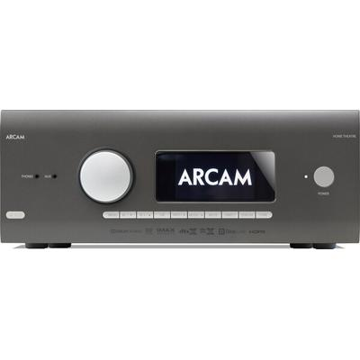 12-ch. audio video receiver 7-channel amplifier; 80 watts per channel with 2 channels driven,Dolby Atmos and DTS:X processing for use with in-ceiling or \\\