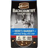 Merrick Backcountry Raw Infused Grain Free Dry Dog Food Hero's Banquet, 10-lb bag