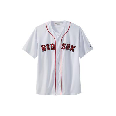 Men's MLB Original Replica Jersey in Boston Red Sox (XLT) Polyester