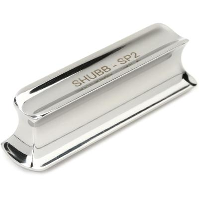 Shubb SP2 Solid Stainless Steel Slide - Semi-bullet Tip with Double Cutaway