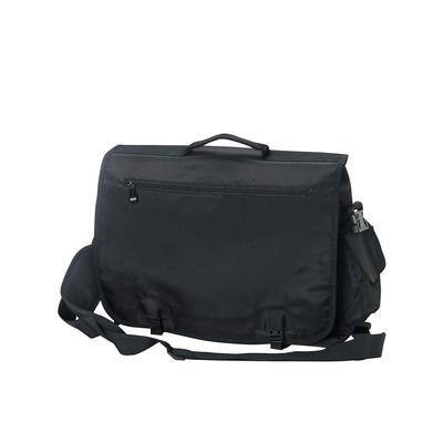 BAGedge BE048 Modern Tech Briefcase in Black | Polyester