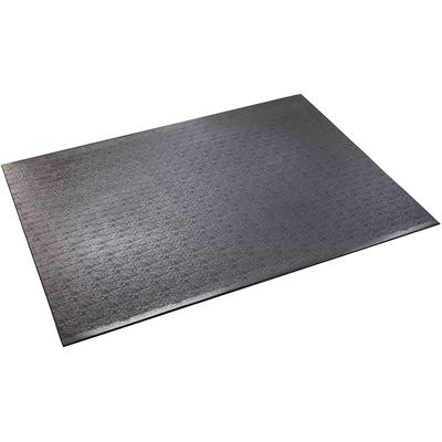 BikeMat is perfect for upright exercise bikes, recumbent bikes, steppers, step aerobics or stretching. Made of super-tough, odor-free, vinyl material, BikeMat has a non-slip surface that is ideal and convenient for any area.
