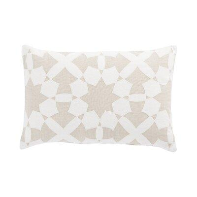 Nikki Chu Cosmic Linen Geometric 22 Throw Pillow Cover In Brown Ivory Cream Size 22x22 Wayfair Plc102033 Shefinds