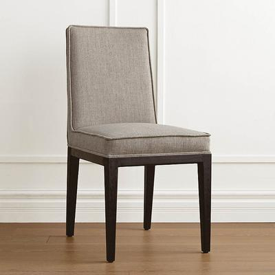 Parsell Dining Chair - Performance Linen Ivory - Frontgate