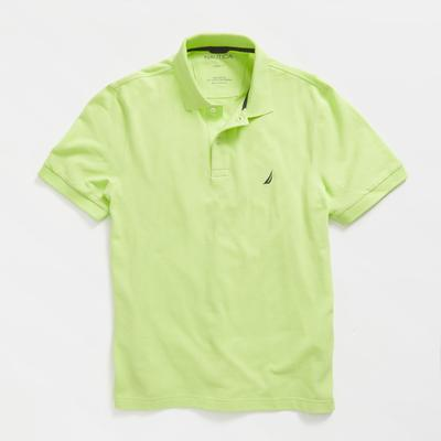 Nautica Men's Classic Fit Deck Polo Nantucket Green, S